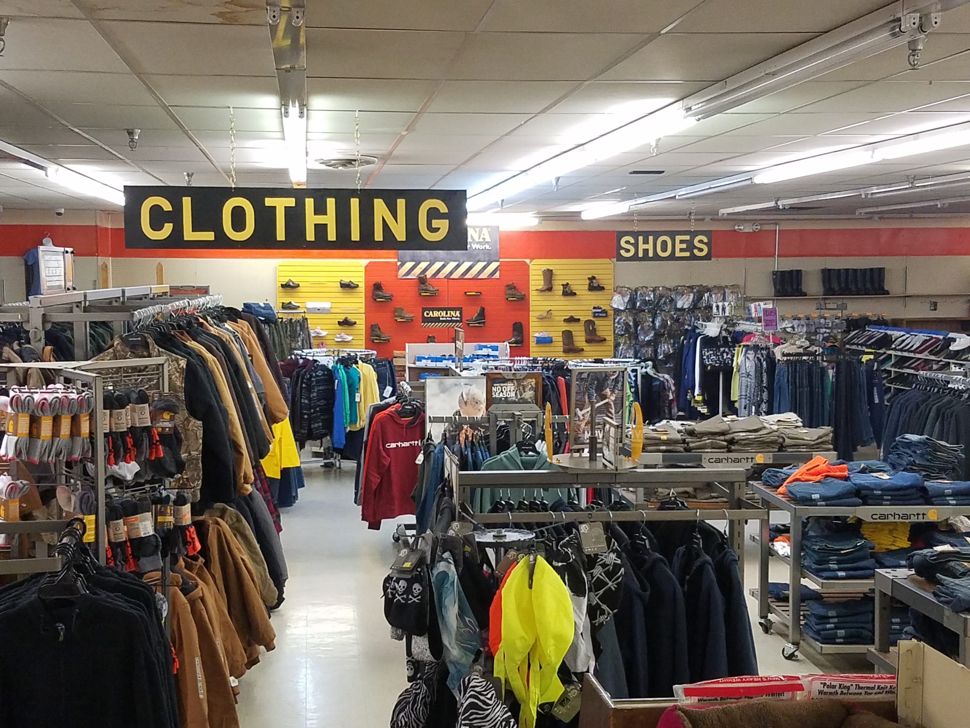 Workwear - Footwear - Home Goods - Decor - Toys & Games - Sporting Goods